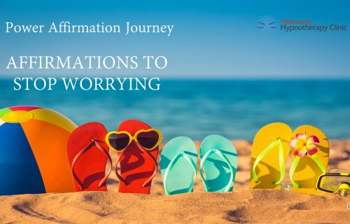 Affirmations to stop stress and worry